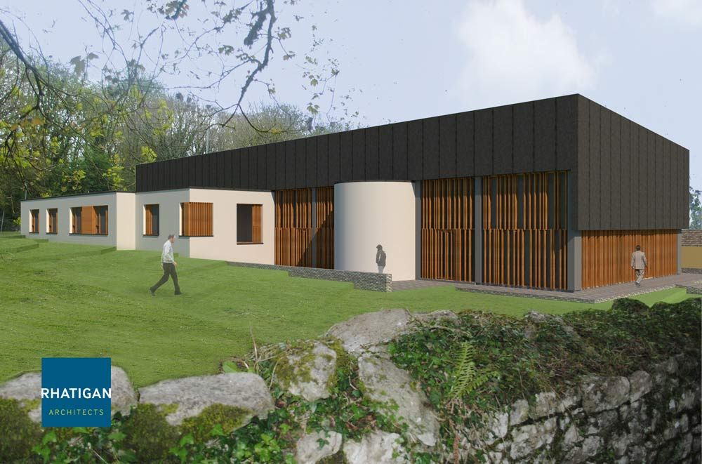 Illustration concept of new Bushypark Extension