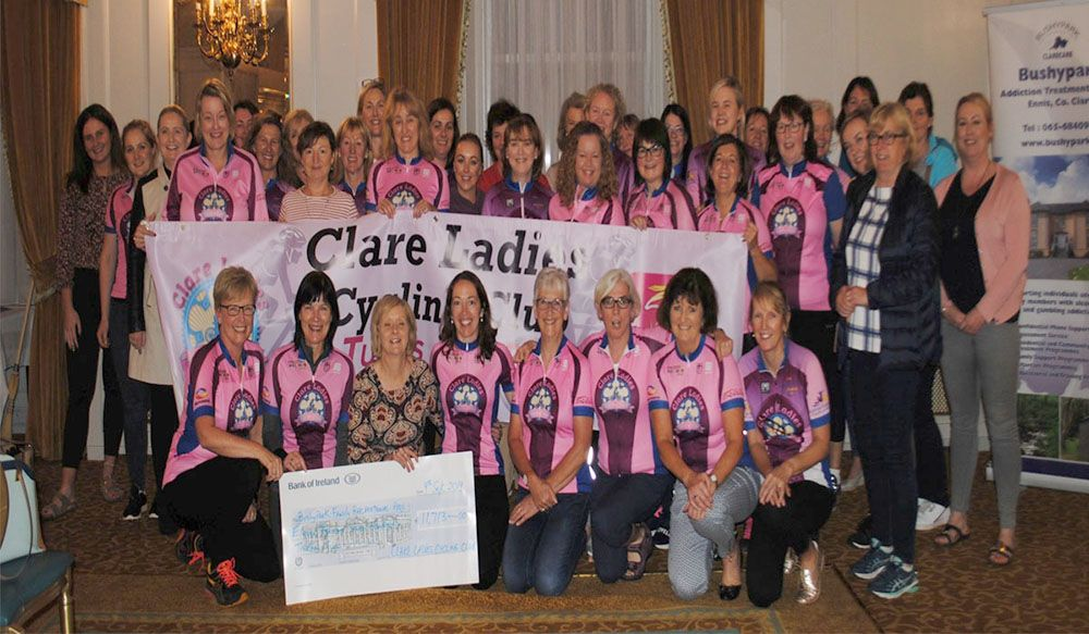 Clare ladies cycling club fundraiser (1)